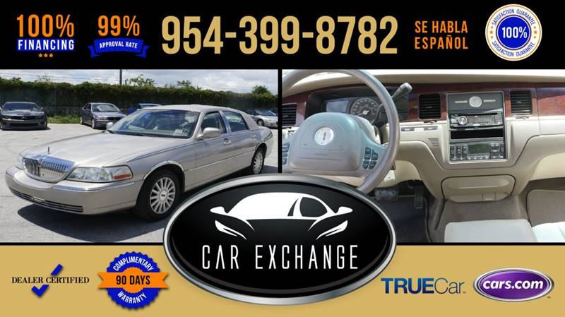2003 Lincoln Town Car Executive In Hollywood Fl Car Exchange
