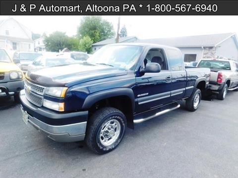 2005 Chevrolet Silverado 2500HD for sale in Altoona, PA