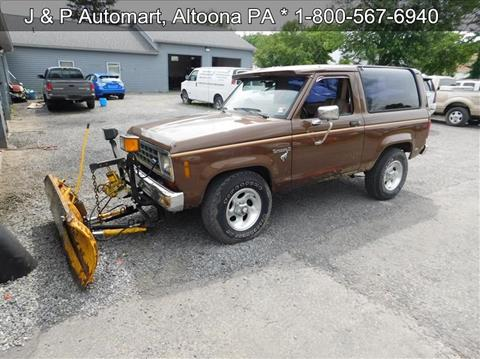 1984 Ford Bronco II for sale in Altoona, PA
