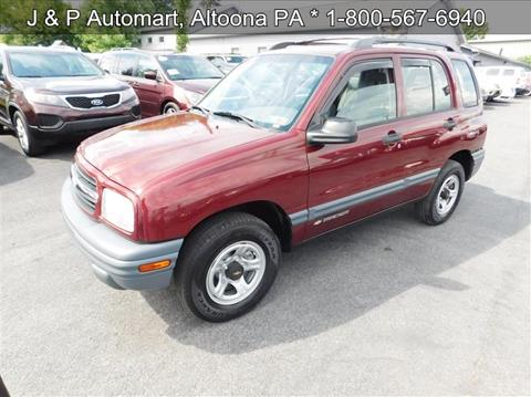 2002 Chevrolet Tracker for sale in Altoona, PA