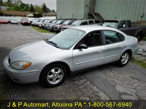 2004 Ford Taurus SES for sale at J & P Auto Mart in Altoona PA