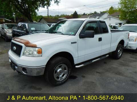 2006 Ford F-150 for sale at J & P Auto Mart in Altoona PA