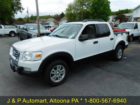 2007 Ford Explorer Sport Trac XLT for sale at J & P Auto Mart in Altoona PA