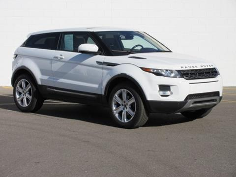 2012 Land Rover Range Rover Evoque Coupe for sale in Mount Pleasant, MI
