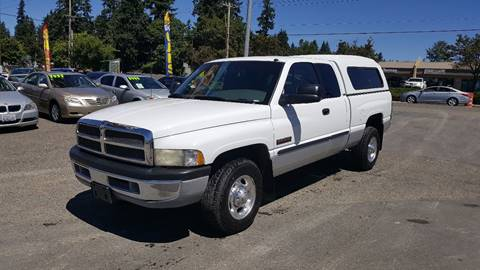 2000 Dodge Ram Pickup 2500 for sale in Federal Way, WA