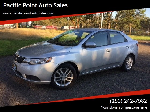 2012 Kia Forte For Sale At Pacific Point Auto Sales In Lakewood WA