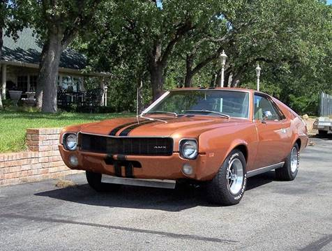 1969 AMC AMX for sale in Weatherford, TX