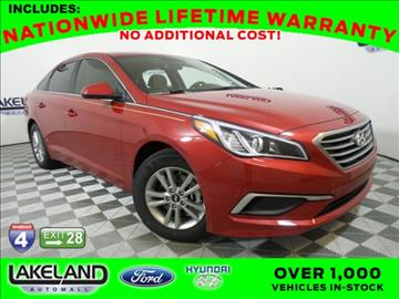 2017 Hyundai Sonata for sale in Lakeland, FL