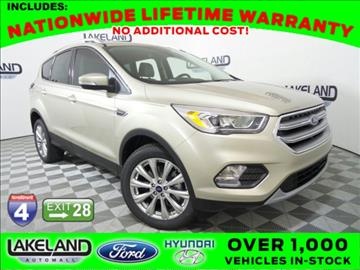 2017 Ford Escape for sale in Lakeland, FL