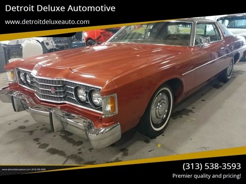 1974 Ford Galaxie 500 for sale in Redford, MI