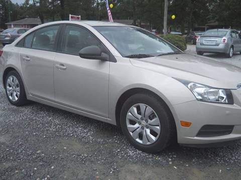 2013 Chevrolet Cruze for sale in Clinton, NC