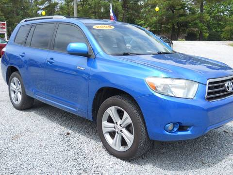 2008 Toyota Highlander for sale in Clinton, NC
