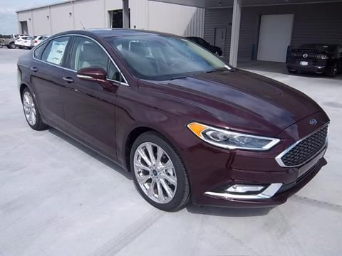 2017 Ford Fusion for sale in Okmulgee, OK