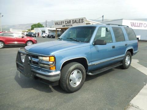 1997 Chevrolet Tahoe for sale in Lewiston, ID
