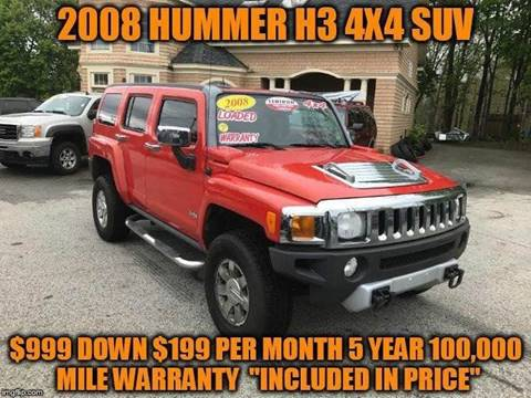 2008 HUMMER H3 for sale in Rowley, MA