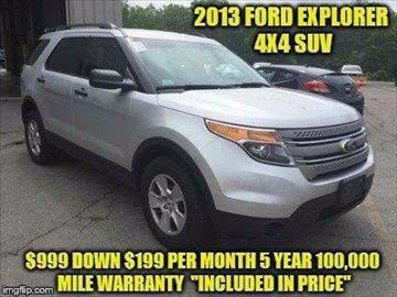 2013 Ford Explorer for sale in Rowley, MA