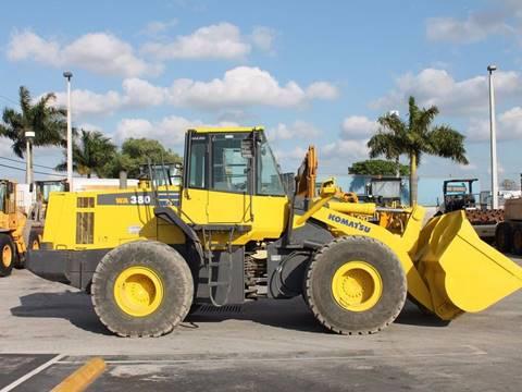 2006 KOMATSU WA-380-6 for sale in Miami FL