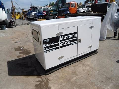 2012 MUSTANG  GF3 - 40KW for sale in Miami, FL