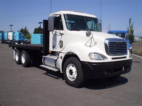 2007 Freightliner CL120 Flatbed Truck for sale in Miami FL