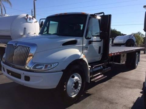2007 International 4300 Flatbed Truck for sale in Miami FL