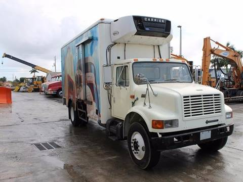 2000 International 4700 Reefer Truck for sale in Miami FL
