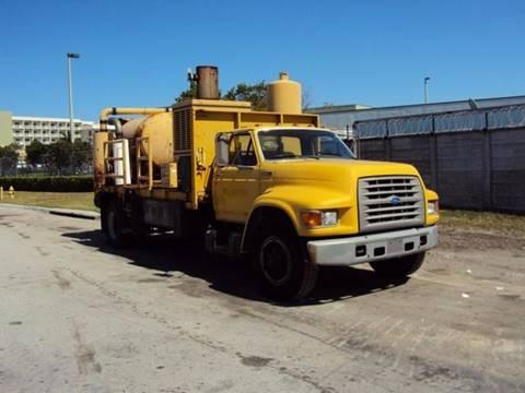 1995 Ford F700 Vacuum Truck for sale in Miami FL