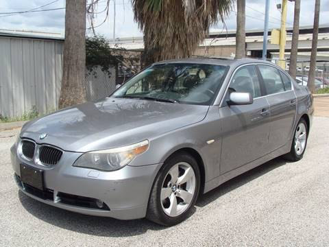 2007 BMW 5 Series for sale in Houston, TX