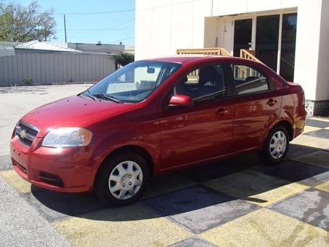 2011 Chevrolet Aveo for sale in Houston, TX