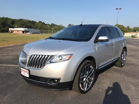 2013 Lincoln MKX for sale in Jacksonville TX