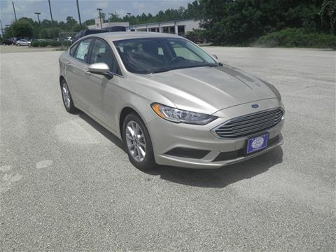 2017 Ford Fusion for sale in Jacksonville, TX