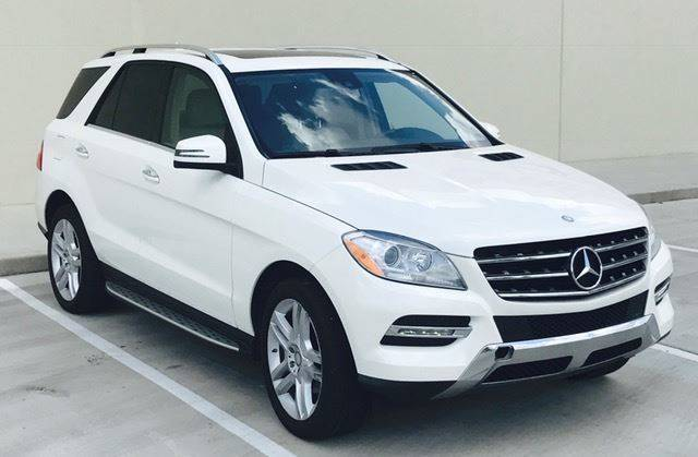 2014 Mercedes Benz ML350 For Sale At Texastar Financial Group In Houston TX