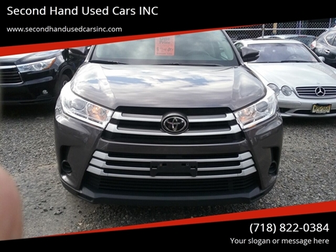 Bronx Used Car Dealers >> Second Hand Used Cars Inc Car Dealer In Bronx Ny