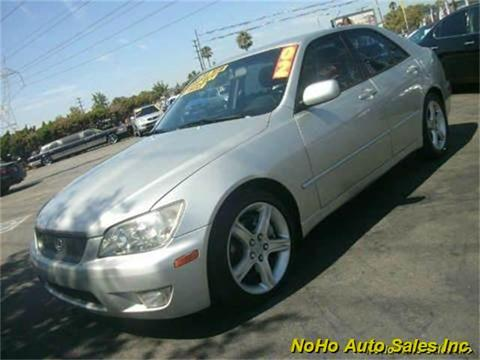 2002 Lexus IS 300 for sale in North Hollywood, CA