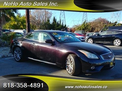 2011 Infiniti G37 Convertible for sale in North Hollywood, CA