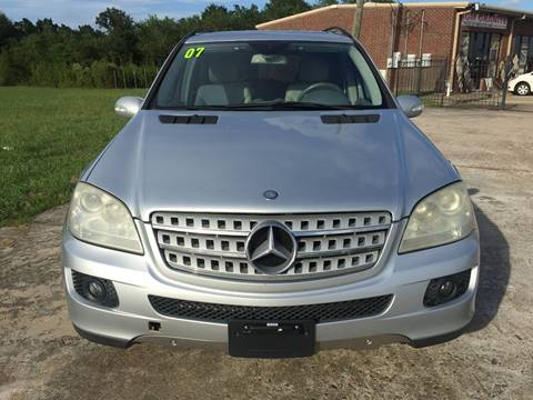 2007 Mercedes-Benz M-Class for sale in Rosharon TX