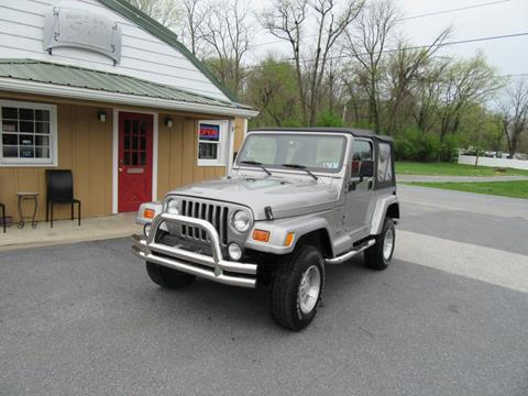 2001 Jeep Wrangler for sale in Carlisle, PA