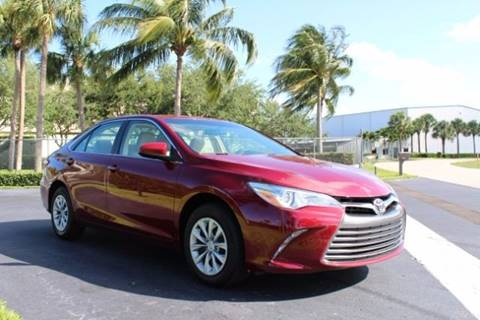2016 Toyota Camry for sale in Naples FL