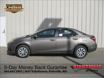 2017 Toyota Corolla for sale in Kirksville, MO