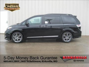 2017 Toyota Sienna for sale in Kirksville, MO