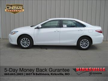 2017 Toyota Camry for sale in Kirksville, MO