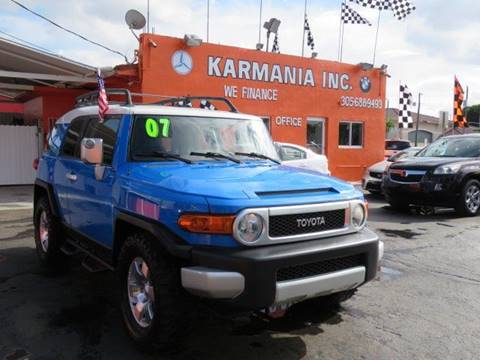 2007 Toyota FJ Cruiser for sale in Hialeah, FL