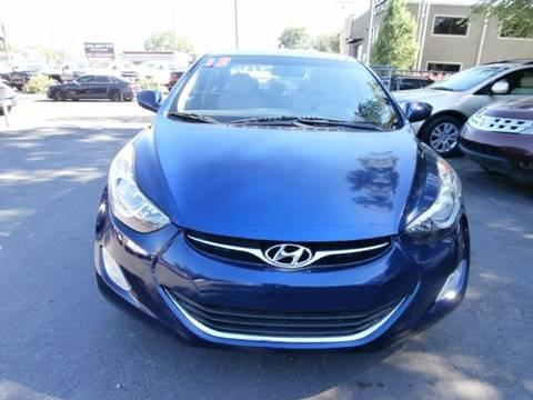 2013 Hyundai Elantra for sale in Salt Lake City, UT