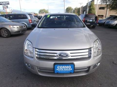 2007 Ford Fusion for sale in Salt Lake City, UT