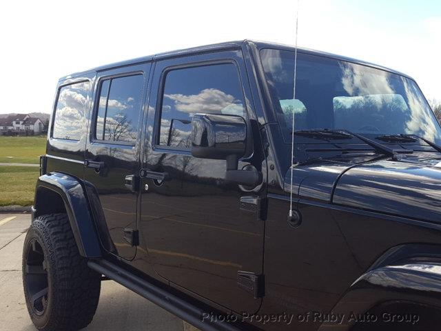 2015 Jeep Wrangler Unlimited for sale at Ruby Auto Group in Hudson OH