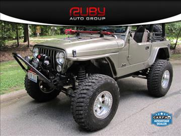 2003 Jeep Wrangler for sale at Ruby Auto Group in Hudson OH