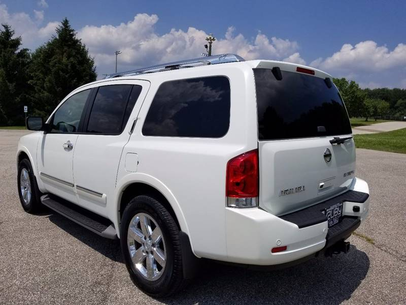 2014 Nissan Armada for sale at Ruby Auto Group in Hudson OH