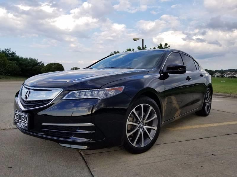 2015 Acura Tlx Tech >> 2015 Acura Tlx Sh Awd V6 W Tech In Hudson Oh Ruby Auto Group