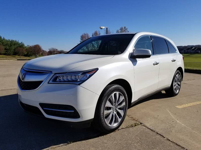 Acura MDX SHAWD WTech In Hudson OH Ruby Auto Group - Acura mdx for sale