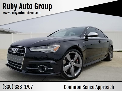 2016 Audi S6 for sale at Ruby Auto Group in Hudson OH