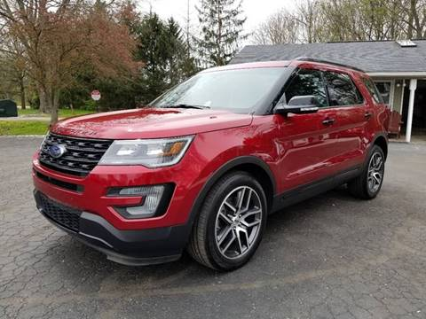 2016 Ford Explorer for sale at Ruby Auto Group in Hudson OH